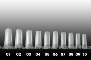 Nail World Elastic Pointe Tip - Sortiment I - 200er Profi-Sortierbox *SALE