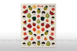 Nail Art Fruit Punch Sticker- food